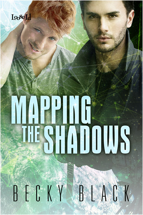 Mapping the Shadows cover. Art by April Martinez.